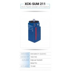 PLASTİK GÖVDELİ LİMİT SWİTCH  XCK-SUM 211